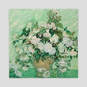 Vincent Van Gogh - Roses Queen Duvet
