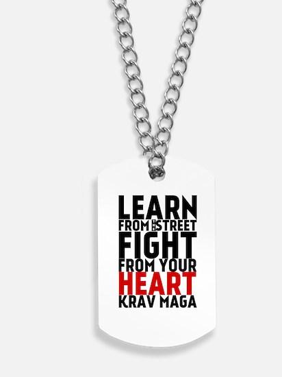 Learn from the street Krav Maga (red heart) Dog Ta