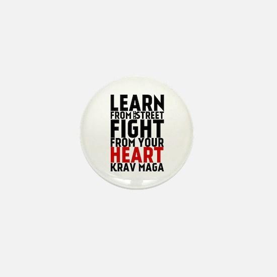Learn from the street Krav Maga (red heart) Mini B