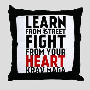 Learn from the street Krav Maga (red heart) Throw