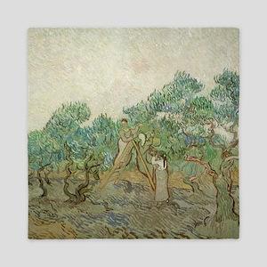 Vincent Van Gogh - The Olive Orchard Queen Duvet