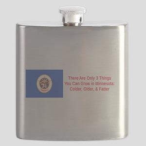 Minnesota Humor #7 Flask