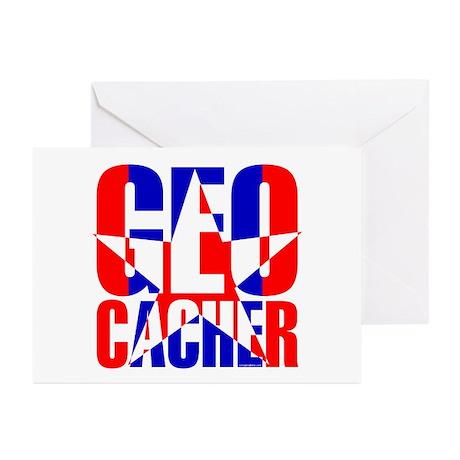 Star Geocacher Greeting Cards (Pk of 10)