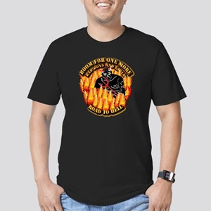 Room for One More Men's Fitted T-Shirt (dark)