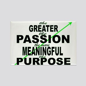 passion and purpose Rectangle Magnet