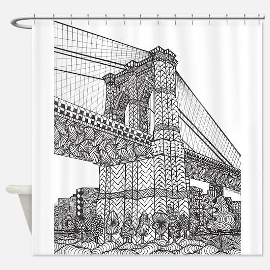 brideclean_edited-1 Shower Curtain