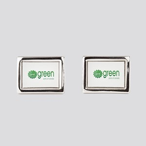 Green Party 2015 Cufflinks