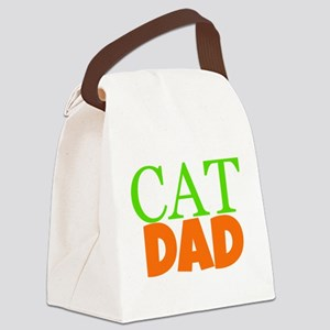 Cat Dad Canvas Lunch Bag