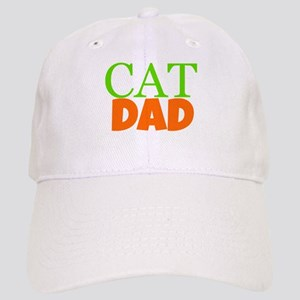 Cat Dad Baseball Cap