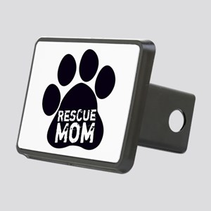 Rescue Mom Rectangular Hitch Cover
