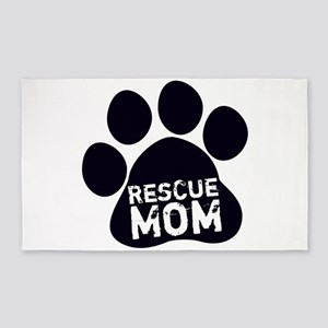 Rescue Mom 3'x5' Area Rug