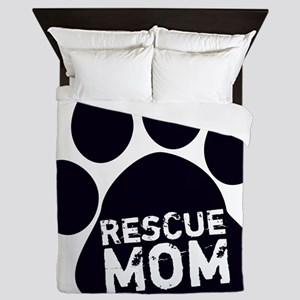 Rescue Mom Queen Duvet