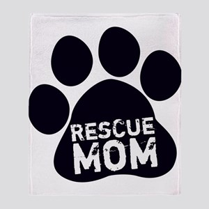 Rescue Mom Throw Blanket