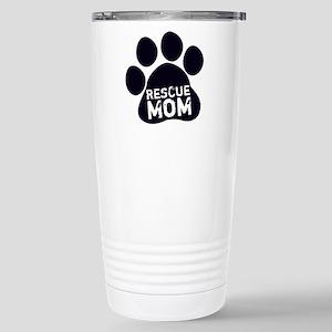 Rescue Mom Stainless Steel Travel Mug