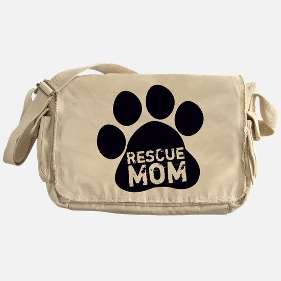 Rescue Mom Messenger Bag