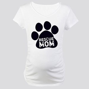 Rescue Mom Maternity T-Shirt