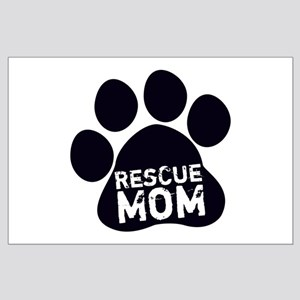Rescue Mom Large Poster