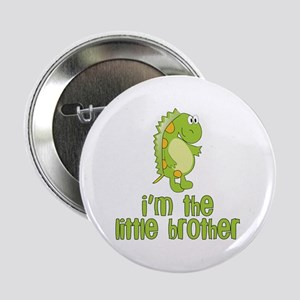 i'm the little brother green Button
