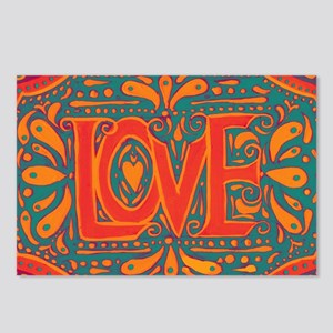 Summer Love Postcards (Package of 8)
