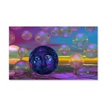 Compassion, Violet Goddess 20x12 Wall Decal