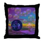 Compassion, Violet Goddess Throw Pillow