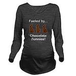 Fuel Chocolate Bunni Long Sleeve Maternity T-Shirt