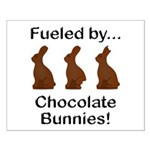 Fuel Chocolate Bunnies Small Poster