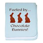 Fuel Chocolate Bunnies baby blanket