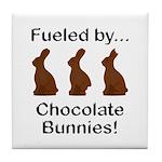 Fuel Chocolate Bunnies Tile Coaster