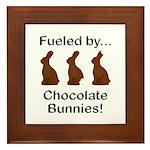 Fuel Chocolate Bunnies Framed Tile