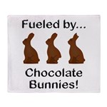 Fuel Chocolate Bunnies Throw Blanket