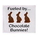 Fuel Chocolate Bunnies Throw Blanket