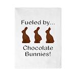 Fuel Chocolate Bunnies Twin Duvet