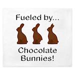 Fuel Chocolate Bunnies King Duvet