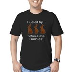 Fuel Chocolate Bunnies Men's Fitted T-Shirt (dark)