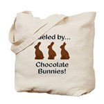 Fuel Chocolate Bunnies Tote Bag