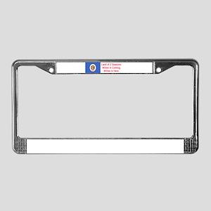 Minnesota Humor #5 License Plate Frame