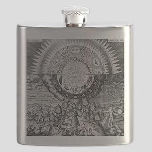 Alchemy Micro/Macro-Cosmos Flask
