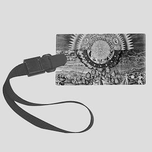 Alchemy Micro/Macro-Cosmos Large Luggage Tag