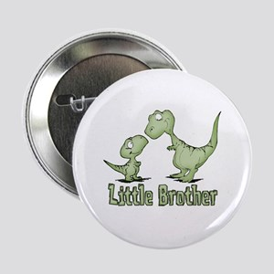 Dinosaurs Little Brother Button