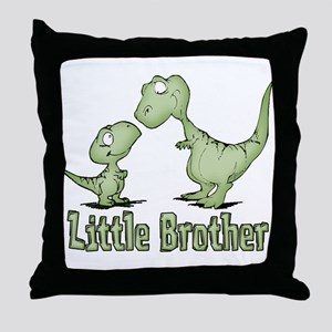 Dinosaurs Little Brother Throw Pillow