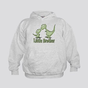 Dinosaurs Little Brother Kids Hoodie