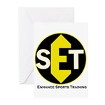 Enhance Sports Training Greeting Cards