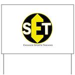 Enhance Sports Training Yard Sign
