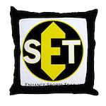 Enhance Sports Training Throw Pillow