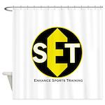 Enhance Sports Training Shower Curtain