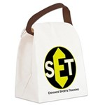 Enhance Sports Training Canvas Lunch Bag