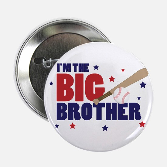 big brother baseball Button