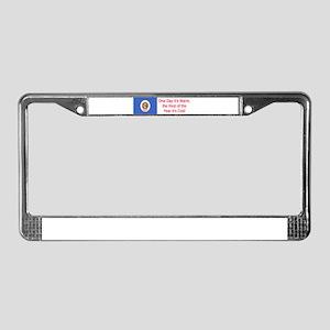 Minnesota Humor #4 License Plate Frame