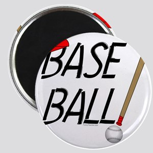 Baseball Exclamation Magnet